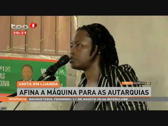 UNITA em Luanda afina a máquina para as autarquias