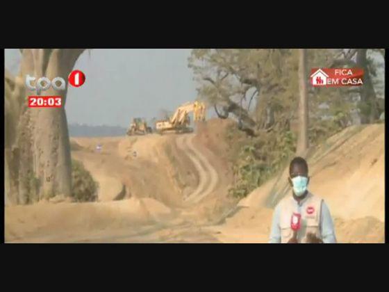 Acesso ao Ngolome - 32 Km em reabilitação no Cuanza-Norte