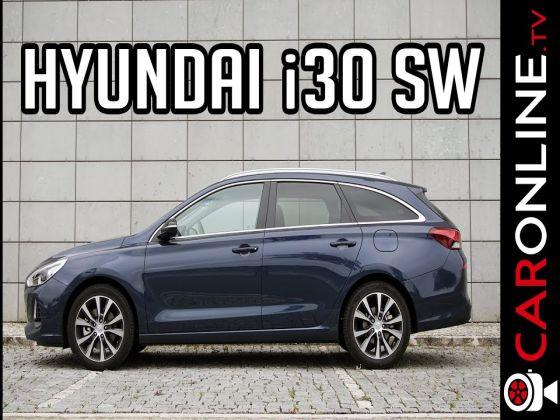 Hyundai i30 SW com 600 Litros de bagageira!