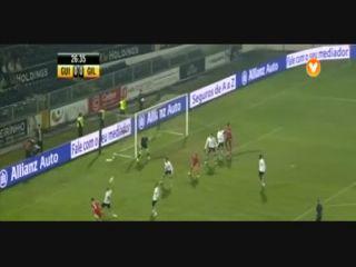 Vitória Guimarães 2-2 Gil Vicente - Golo de S. Nwankwo (27min)