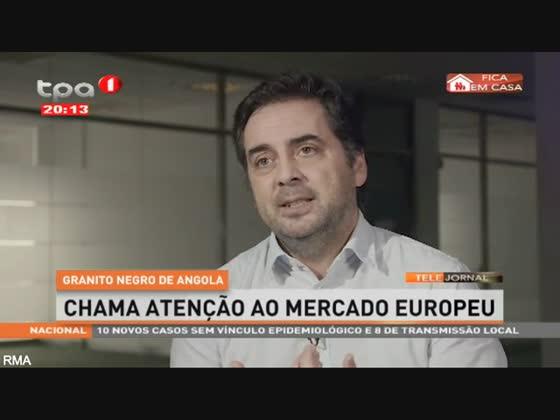 Granito negro de Angola - Chama atenção ao mercado Europeu