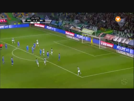 11J :: Sporting - 1 x Belenenses - 0 de 2015/2016