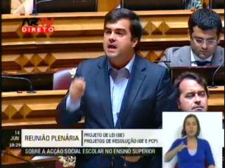 Resposta de Duarte Marques ao BE e PCP sobre a Acção Social do ES 2011/2012