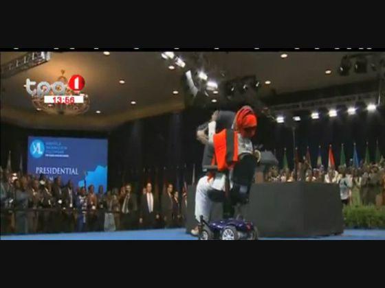 Barack Obama reúne-se com 500 lideres jovens africanos em Washington