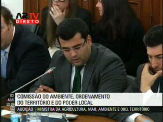 Bruno Coimbra questiona Ministra Assunção Cristas sobre o Programa Porta 65