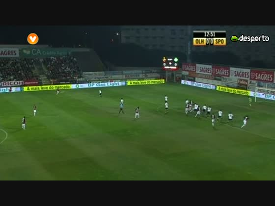 16J :: Olhanense - 0 x Sporting - 0 de 2011/2012
