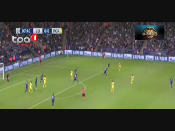 FC Porto dominador mas perde no terreno do campeo inglês