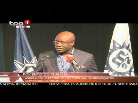 Angola colhe experiência de Portugal na promoção de actividades de cruzeiros
