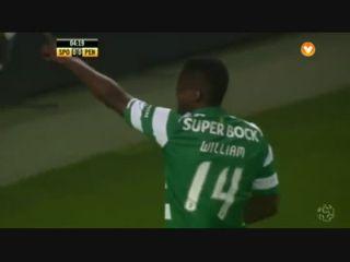 Sporting CP 3-2 Penafiel - Golo de William (5min)