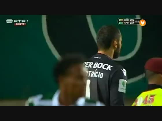 Benfica - 0 x Sporting - 1 de 2015/2016 Supertaçaca - Sporting - SAPO Vídeos