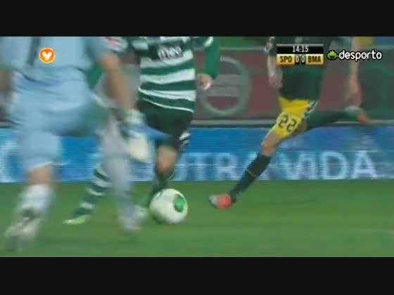 15J :: Sporting - 1 x Beira Mar - 0 de 2012/2013