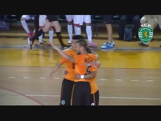 Futsal | jogo 2 - 1/2 Final - SPORTING 6-2 Fundão - 2012/2013 Resumo