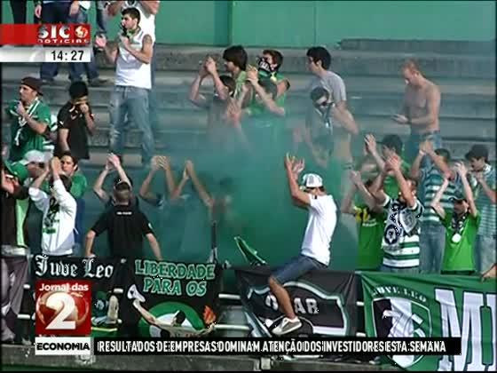 Sporting entra na pré-época a vencer o Tourizense - SIC Notícias