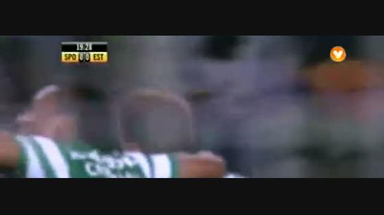 15J :: Sporting - 3 x Estoril - 0 de 2014/2015