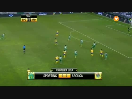 02J :: Sporting - 1 x Arouca - 0 de 2014/2015