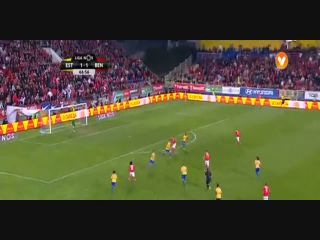 Estoril 1-2 Benfica - Golo de Pizzi (67min)