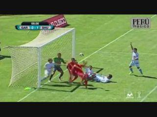 Real Garcilaso 1-2 Sport Huancayo - Golo de Kleyr (4min)