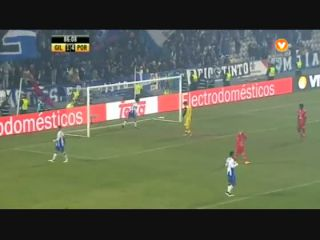 Gil Vicente 1-5 Porto - Golo de J. Martínez (87min)