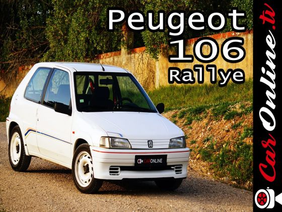 Peugeot 106 RALLYE - 100 cv & 800 kg = DIVERSÃO