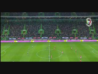 Resumo: Sporting CP 2-2 Sporting Braga (5 Novembro 2017)