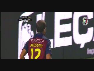 Chaves 3-0 Moreirense - Golo de R. Bressan (62min)