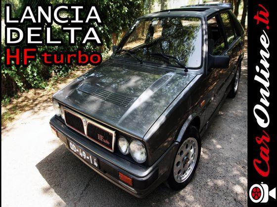 Lancia DELTA HF Turbo - 140 cv à ANTIGA!