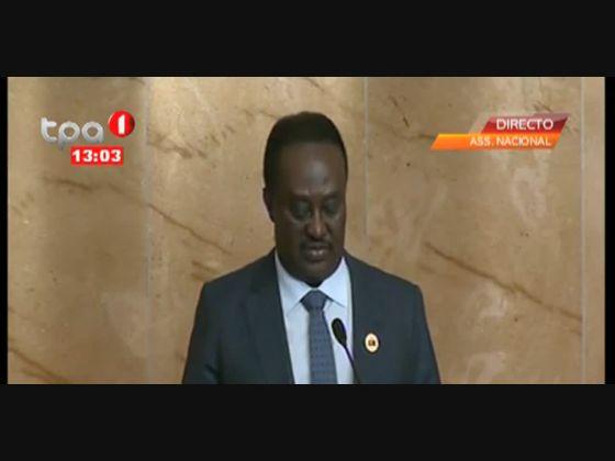 Presidente da Assembleia Nacional defende uma África forte, unida e coesa