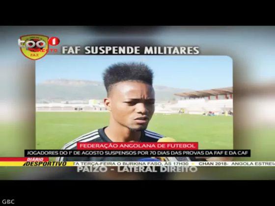"""FAF """"Jogadores do 1º de Agosto suspensos por 70 dias das provas da FAF e CAF"""""""
