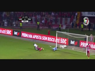 Desportivo Aves 2-3 Chaves - Golo de William (89min)