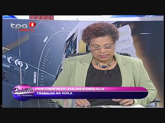 """Política no Feminino """"Em busca do Ouro em Angola"""""""