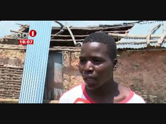 Chuva no Uíge - Deixa 70 casas destruídas no município de Milunga