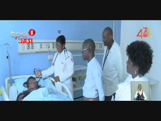 Kiazeco Isabel internada no hospital Josina Machel