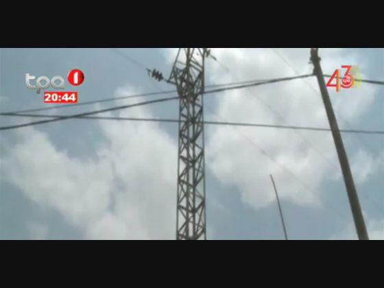 Jovem morre electrocutado num poste de média tensão em Ndalatando