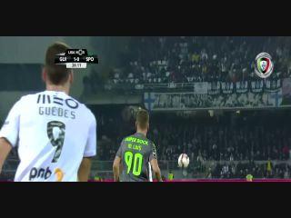 Resumo: Vitória Guimarães 1-0 Sporting CP ()